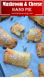 Mushroom and Cheese Hand Pie
