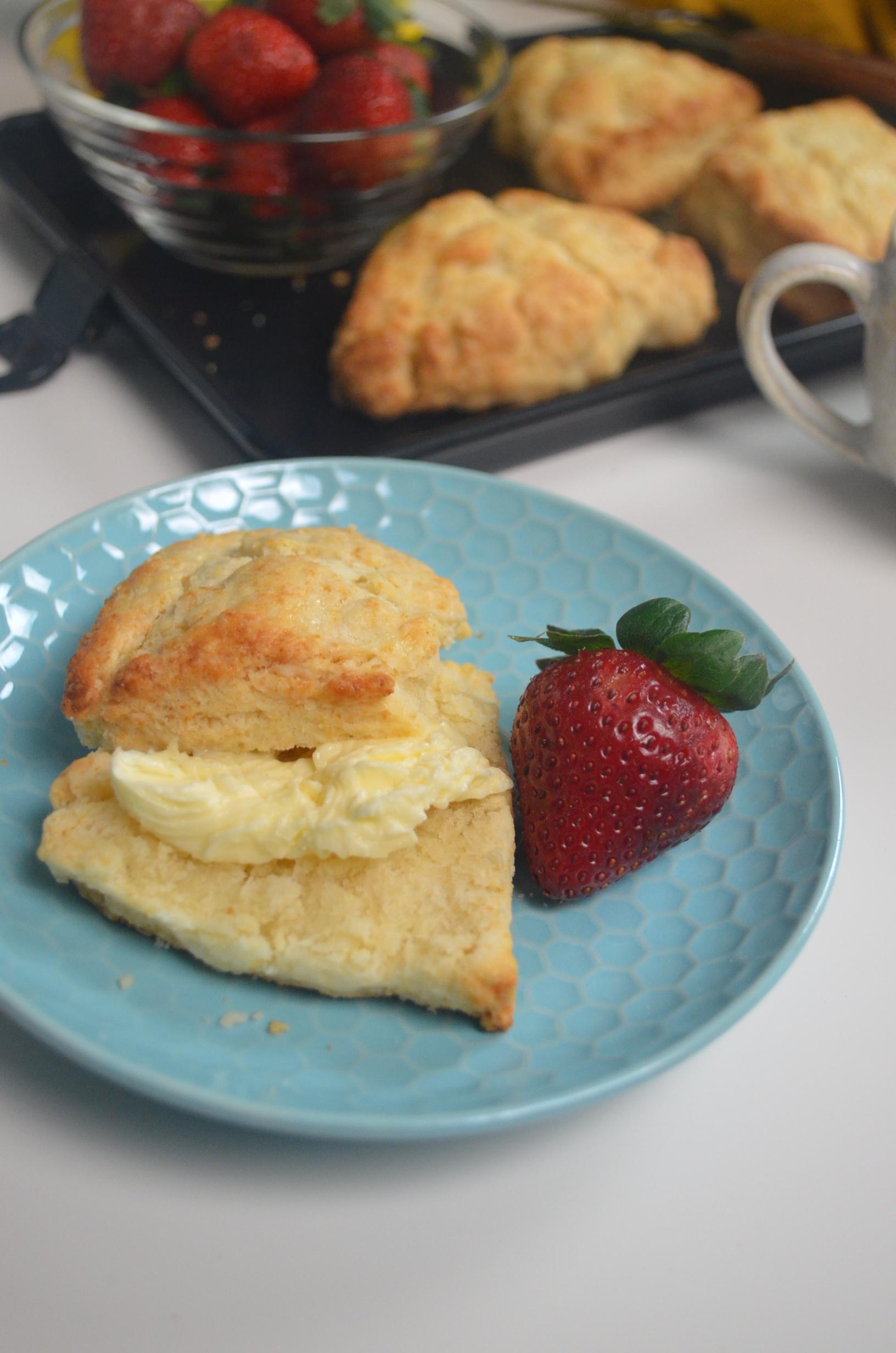Small Batch Cream Scones