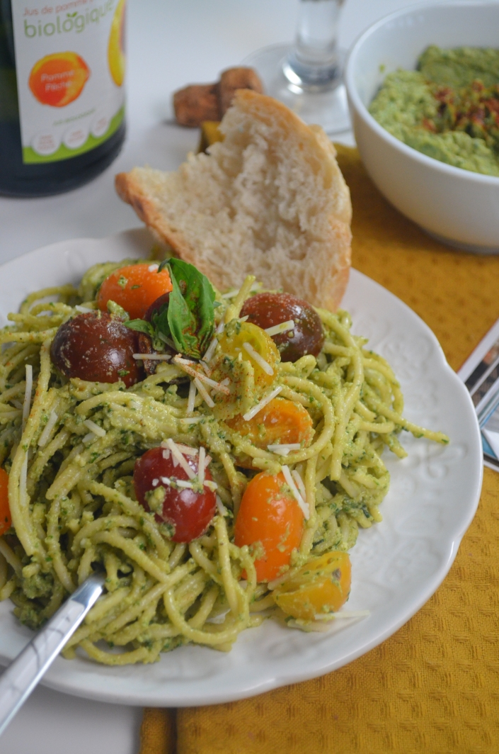 Avocado Spaghetti Sauce