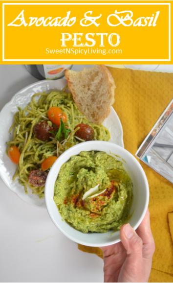 Avocado and Basil Pesto