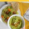 Avocado and BasilPesto