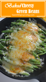 Baked Green Beans with Cheese