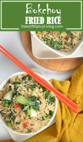 Bokchoy Fried Rice