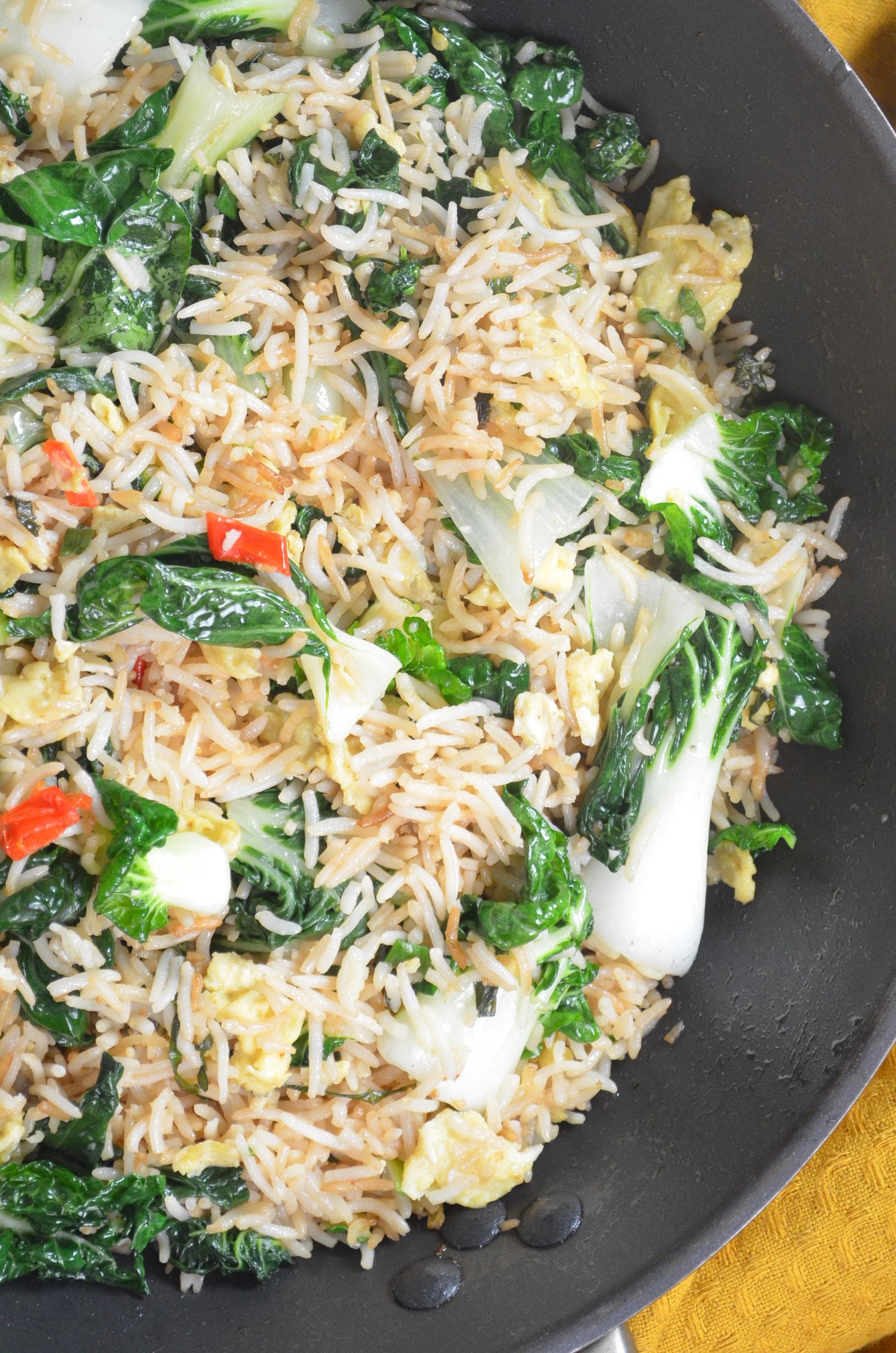 Bokchoy Rice