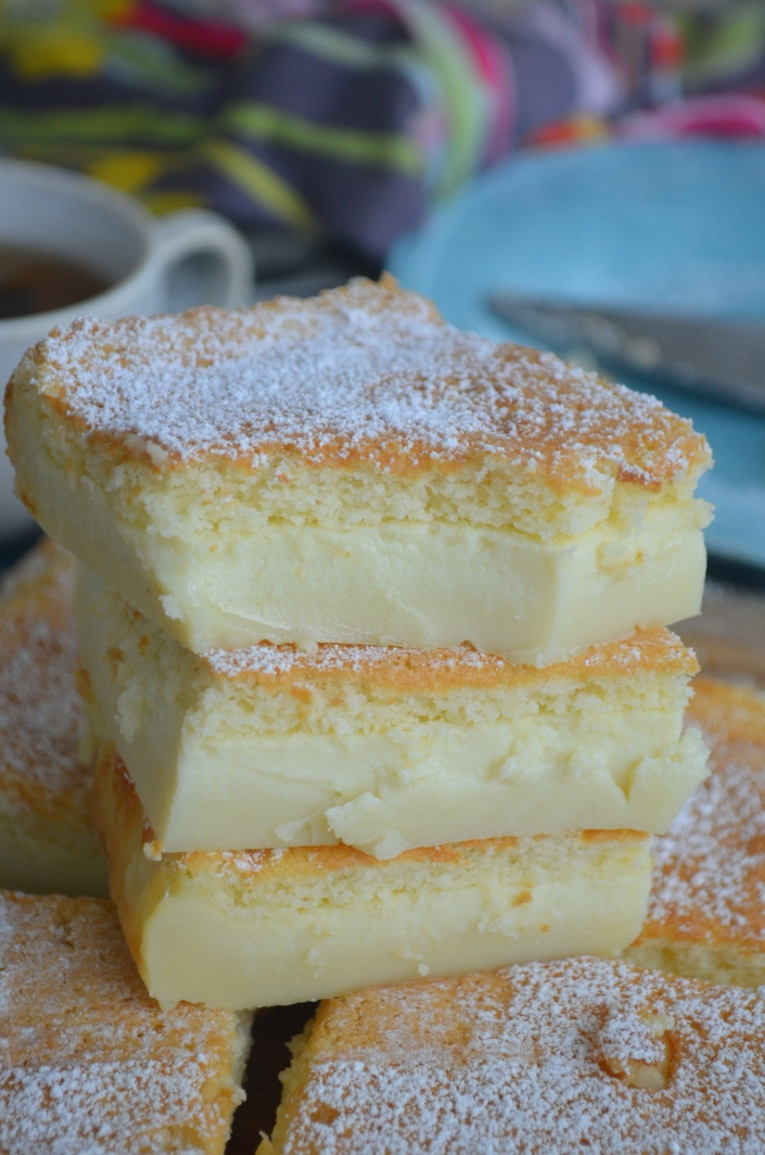 Magic Custard Cake By SweetNSpicyLIving