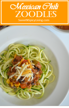 Mexican Chili Zoodles