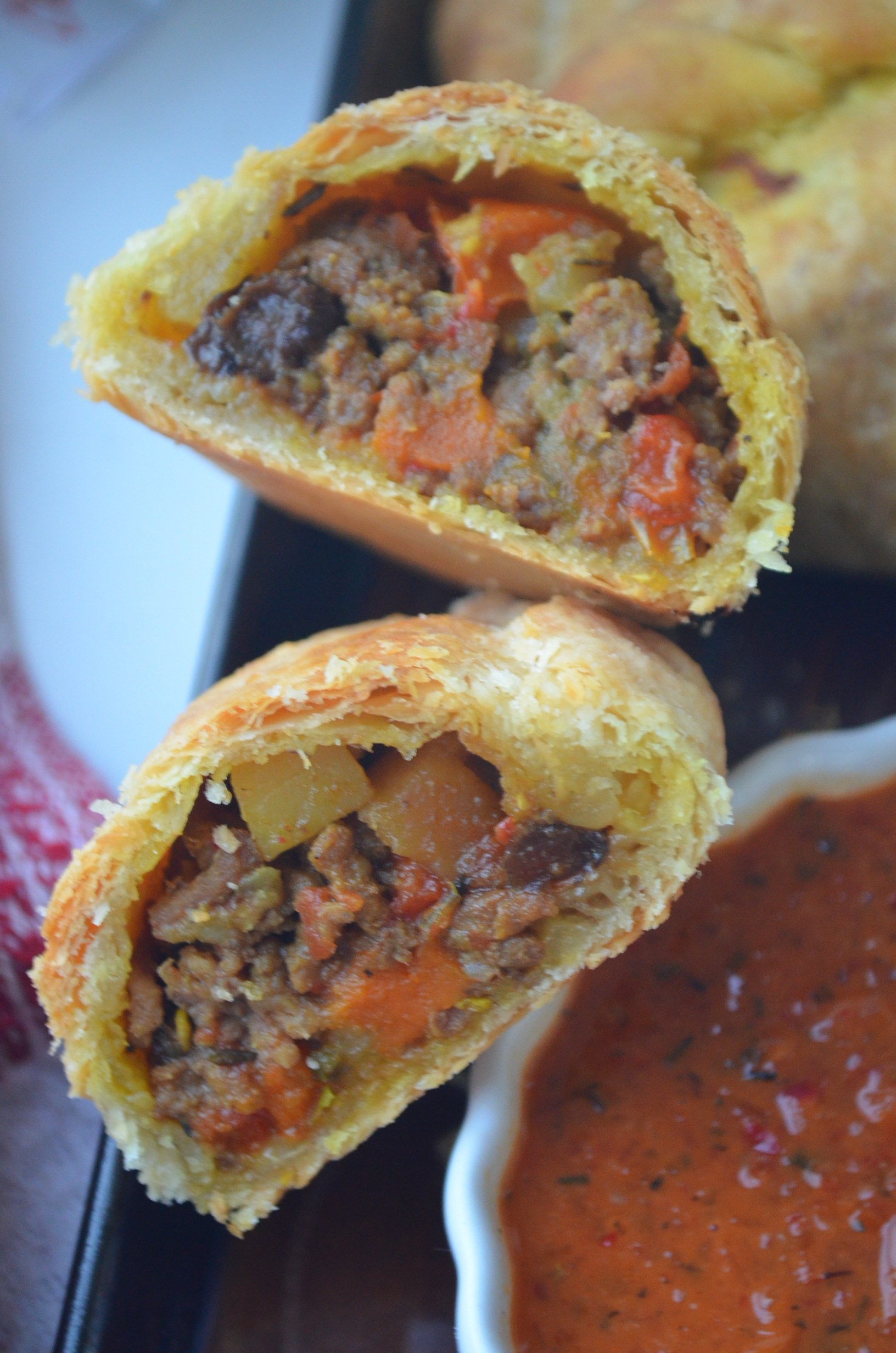 Small Batch Beef Empanada