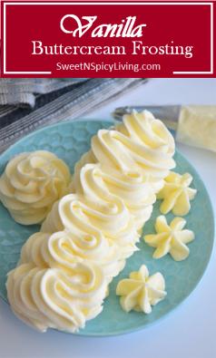 Vanilla Buttercream Frosting