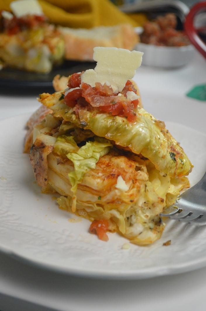 Garlic Butter Cabbage Wedges