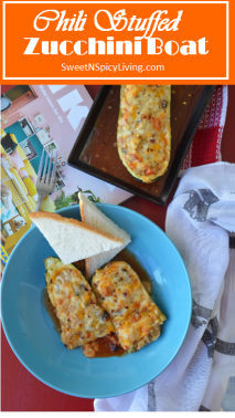 i Stuffed Zucchini Boat
