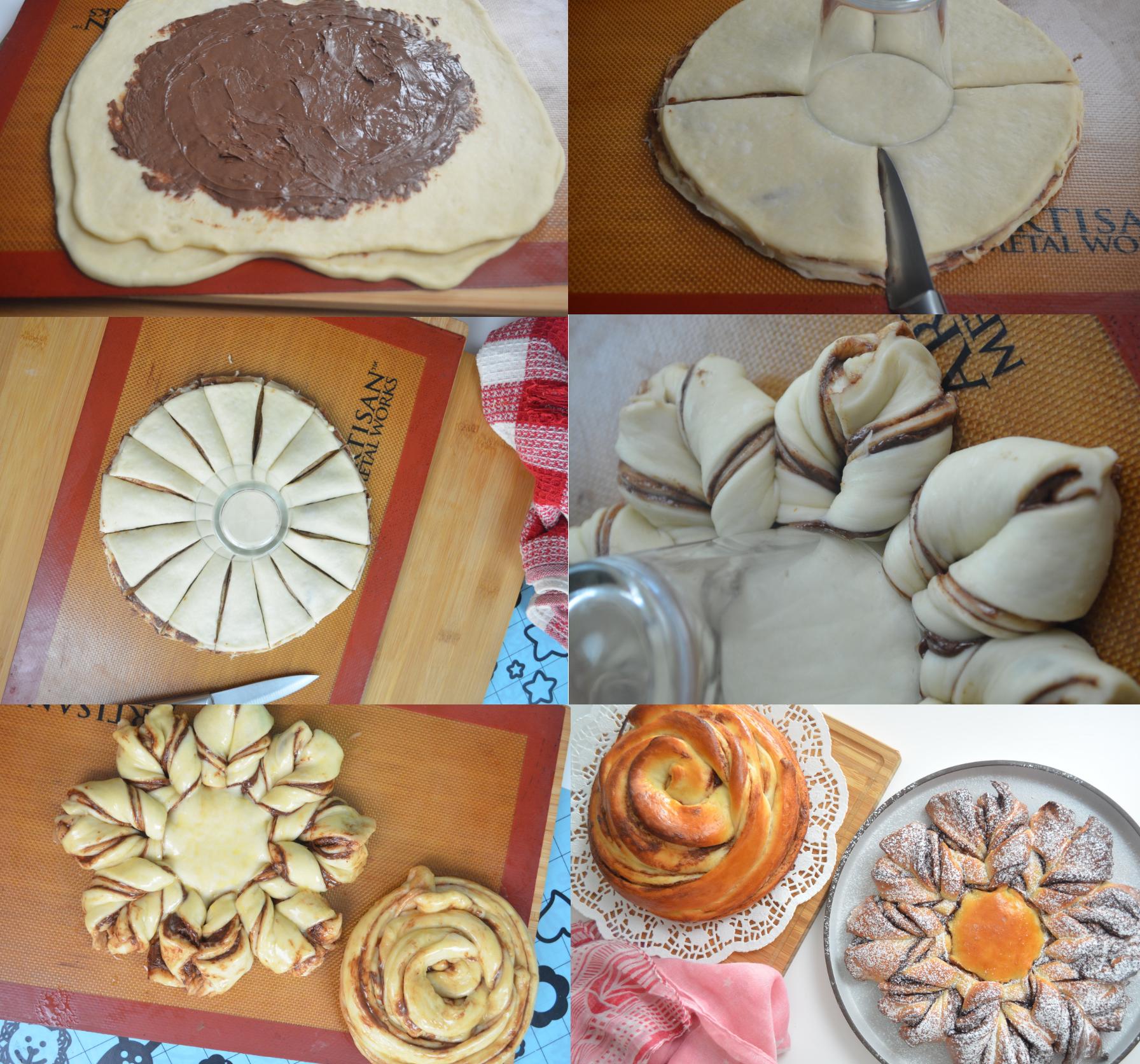 Star Bread Collage