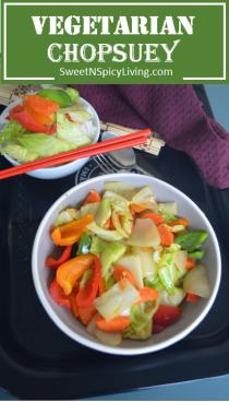 Vegetarian Chopsuey
