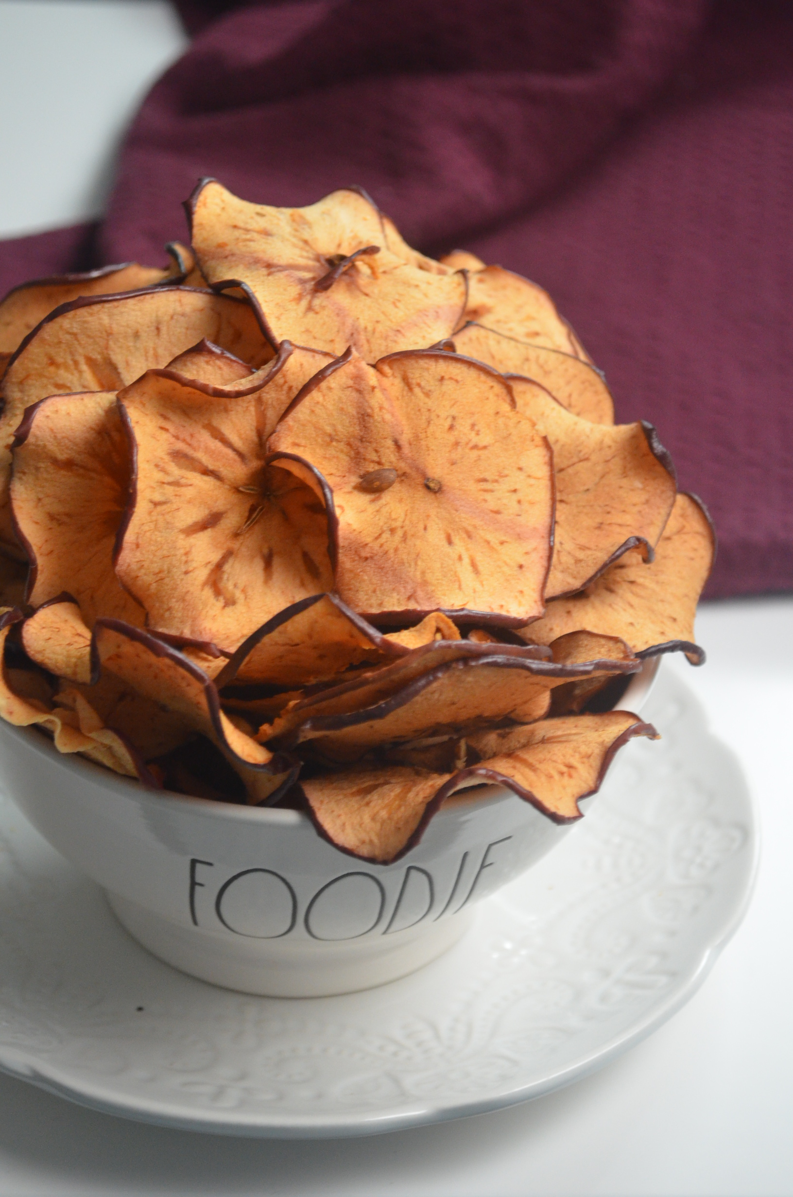1 ingredient apple chips