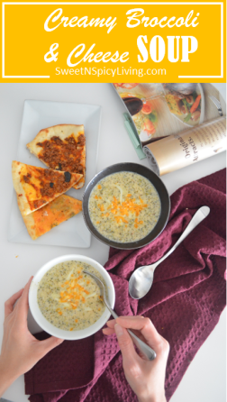 Broccoli and Cheese Soup