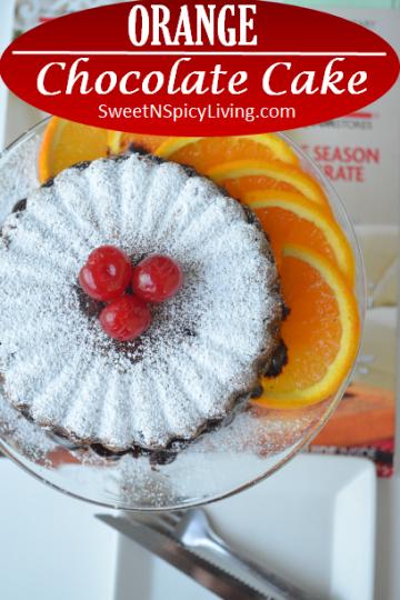 Orange Chocolate Cake