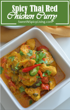 Spicy Thai Red Chicken Curry