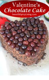 Valentines Chocolate Cake