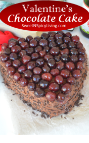 Valentines Chocolate Cake