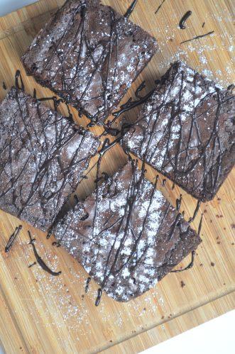 small batch brownie
