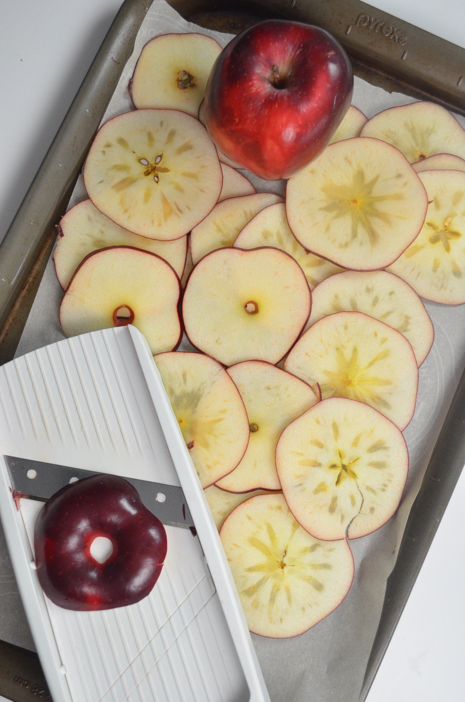 small batch crispy apple chips