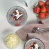 small batch strawberry chai seedpudding