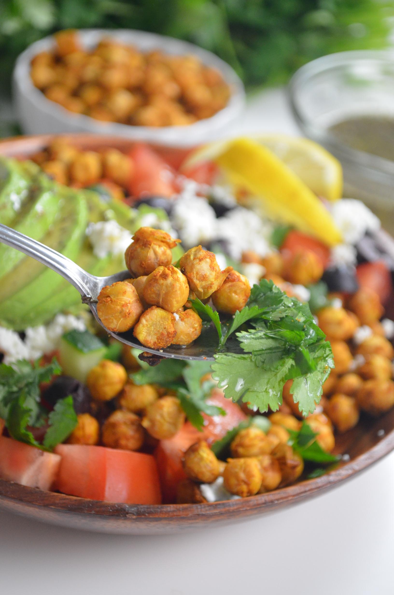 Chickpeas and Quinoa Salad