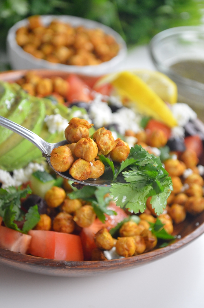 Chickpeas and Quinoa Salad