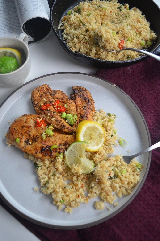 Cilantro and Lime Pan Seared Chicken