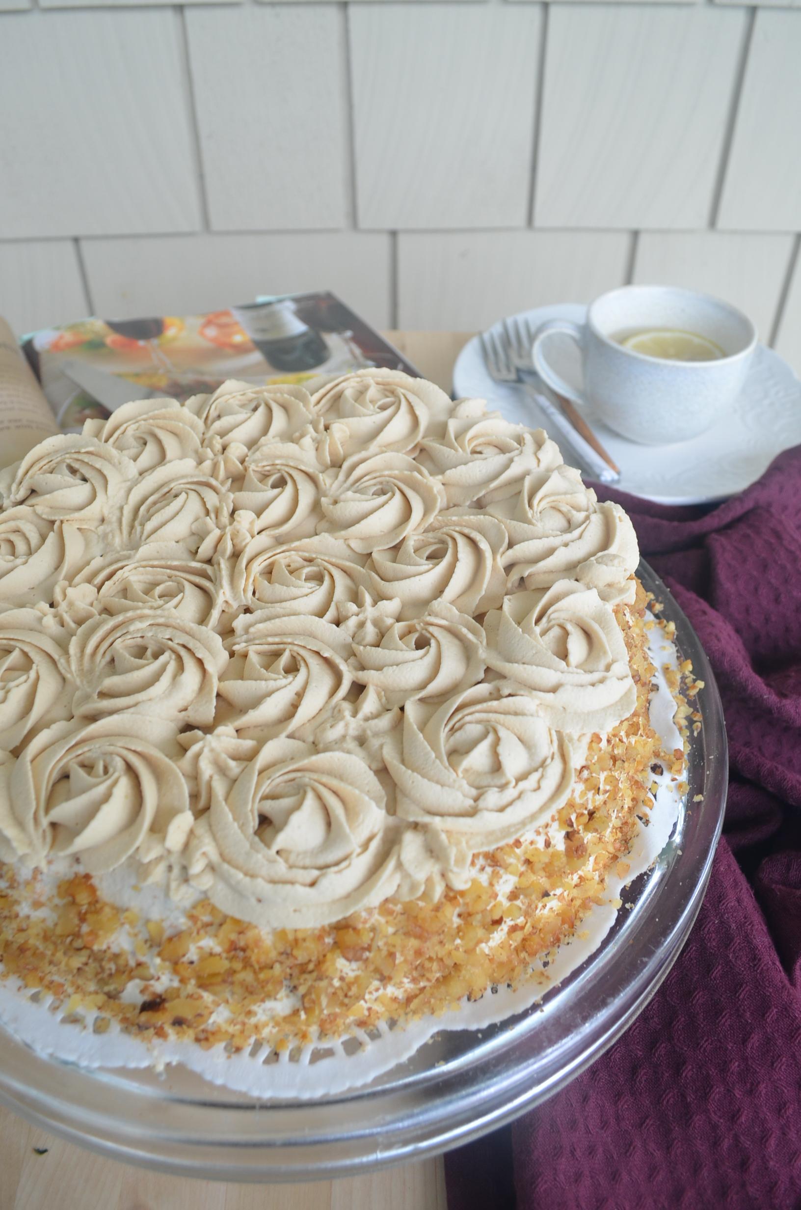 Light and Fluffy Banana Chiffon Cake