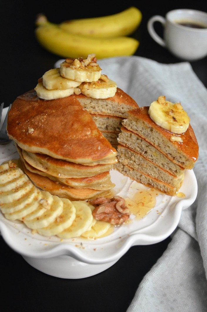 Mini Banana Pancake By sweetNSpicyLiving