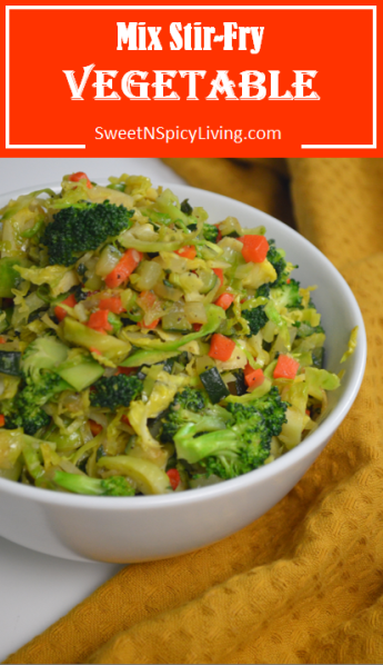 Mix Stir-fry Vegetables