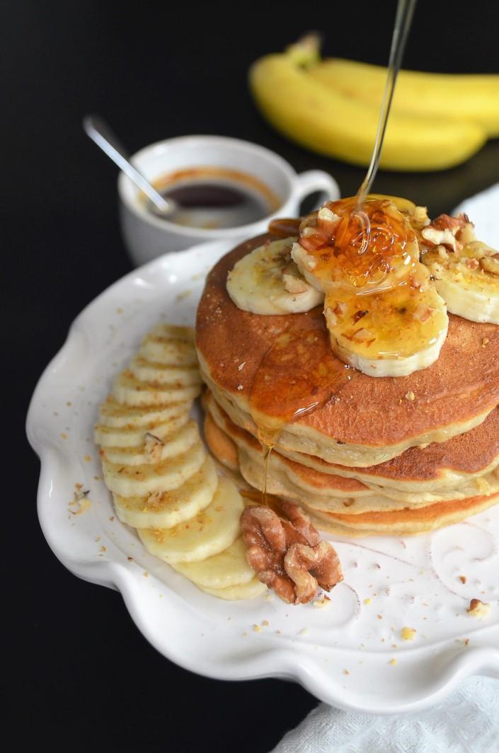 Single Serving Banana Pancake