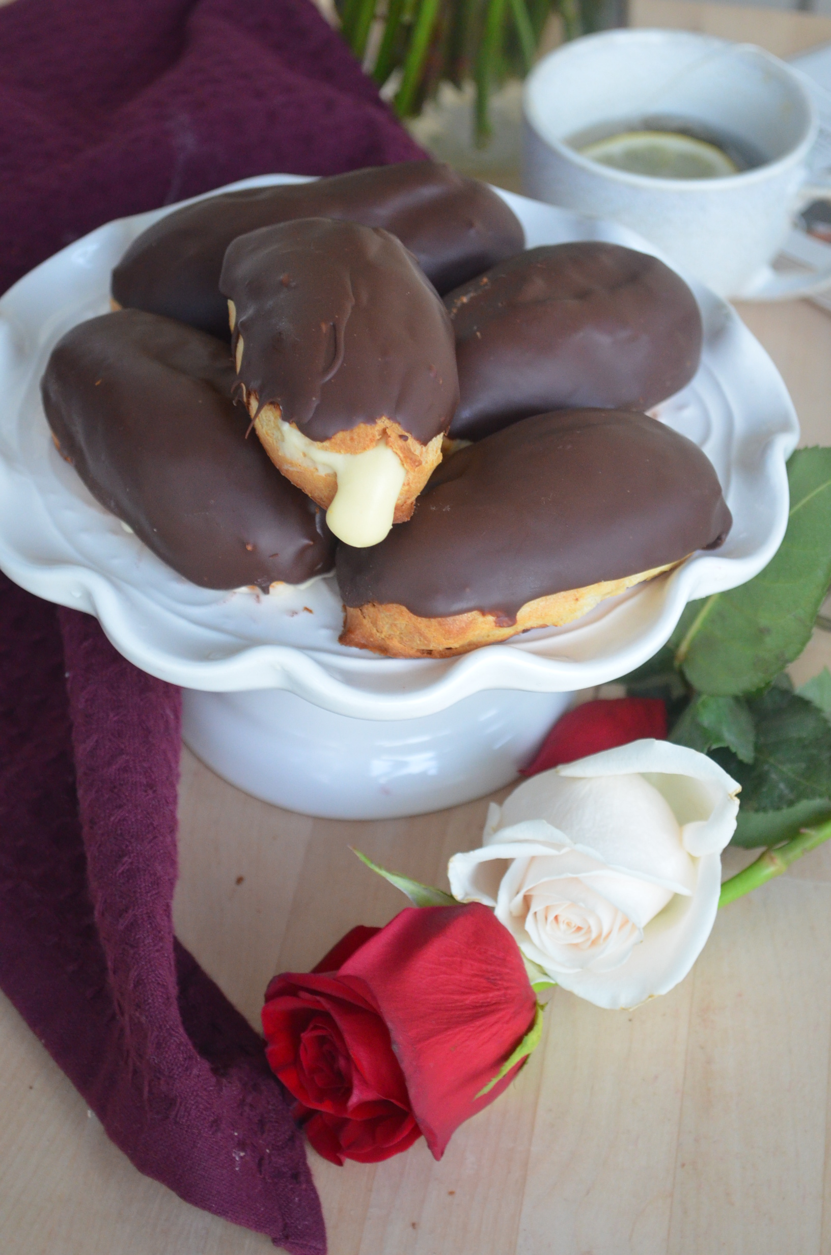 Small Batch Eclair By SweetNSpicyLiving