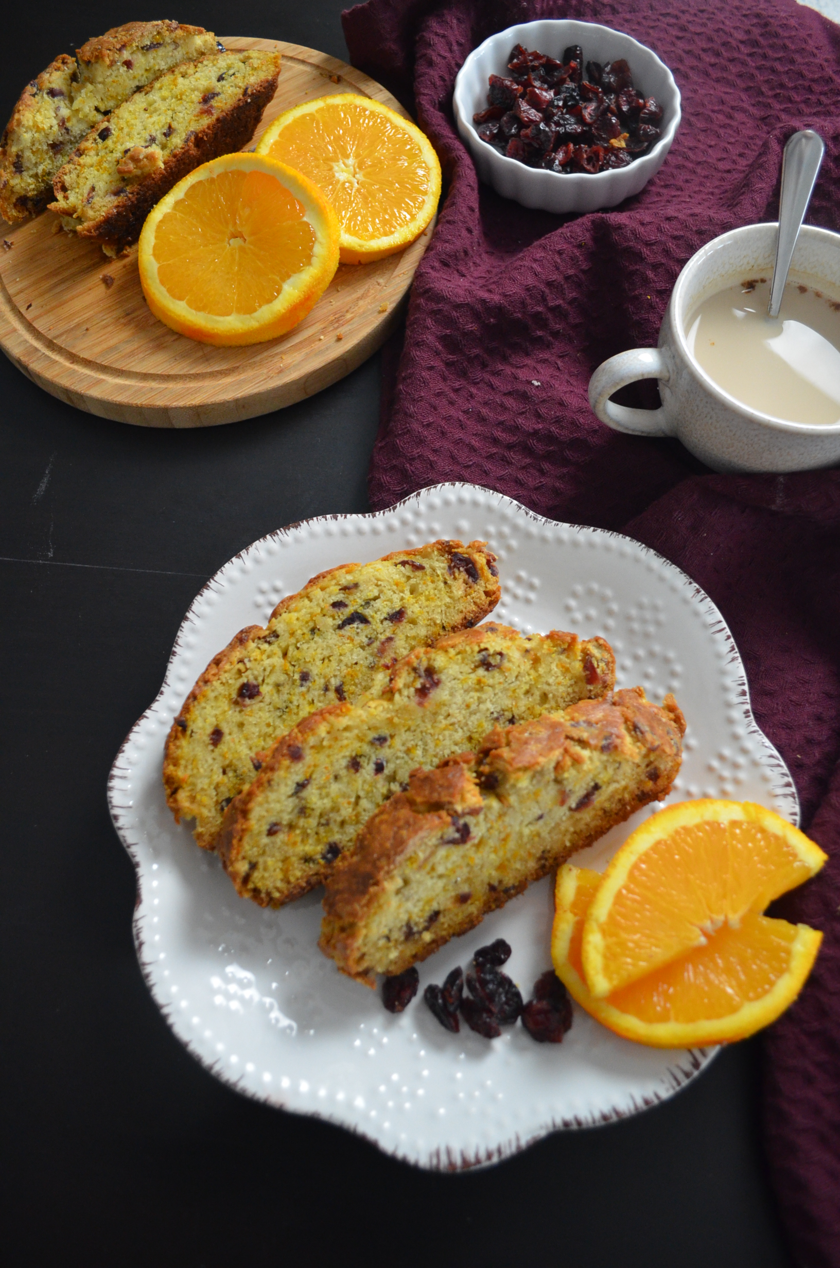 Small Batch Orange Cranberry Irish Soda Bread By SweetNSpicyLiving