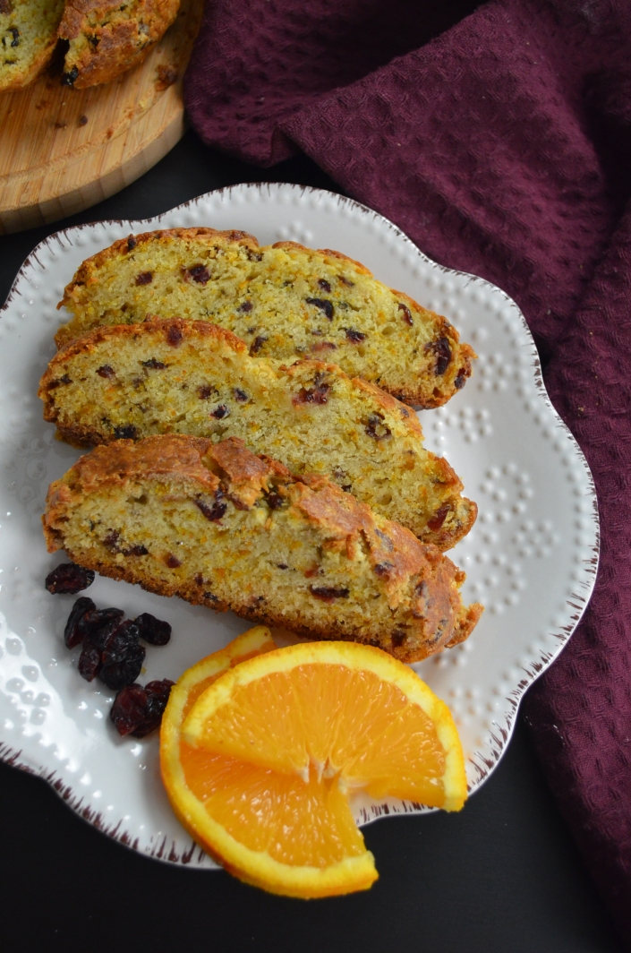 Small Batch Orange Cranberry Irish Soda Bread For Two