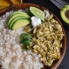 Small Batch Slow Cooker Chicken Verde