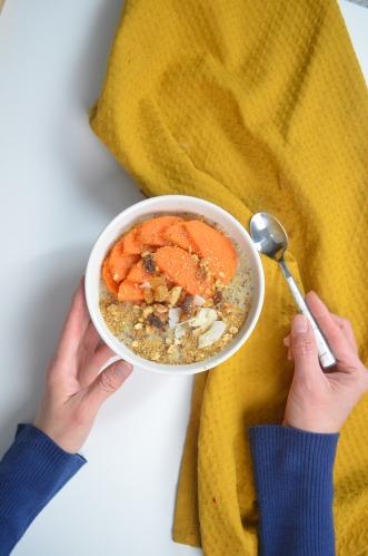 Small Batch Sweet Potato Oatmeal