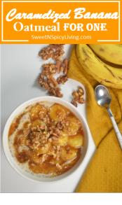 Caramelized Banana Oatmeal