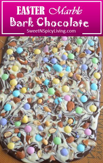 Easter Marble Bark Chocolate 2
