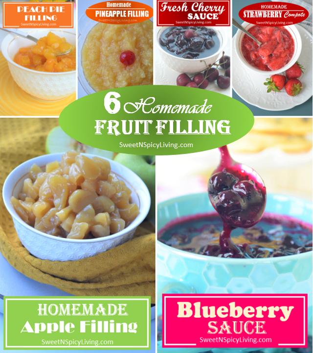 Fruit Filling Collage