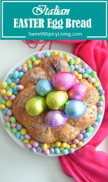 Italian Easter Egg Bread
