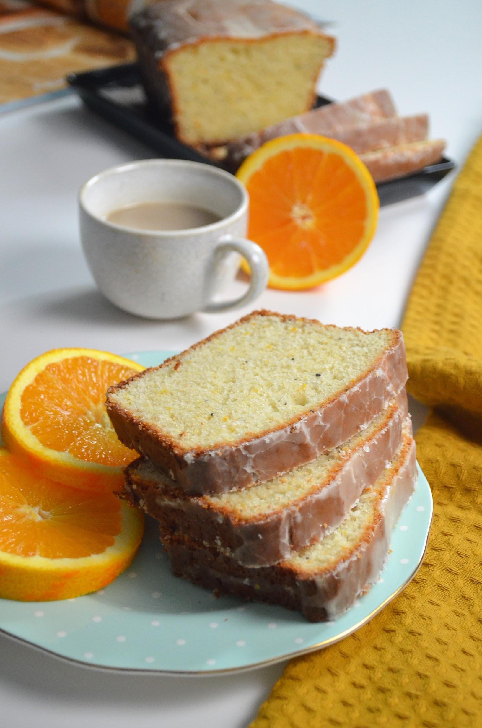 Orange Poppy Seed Loaf Bread