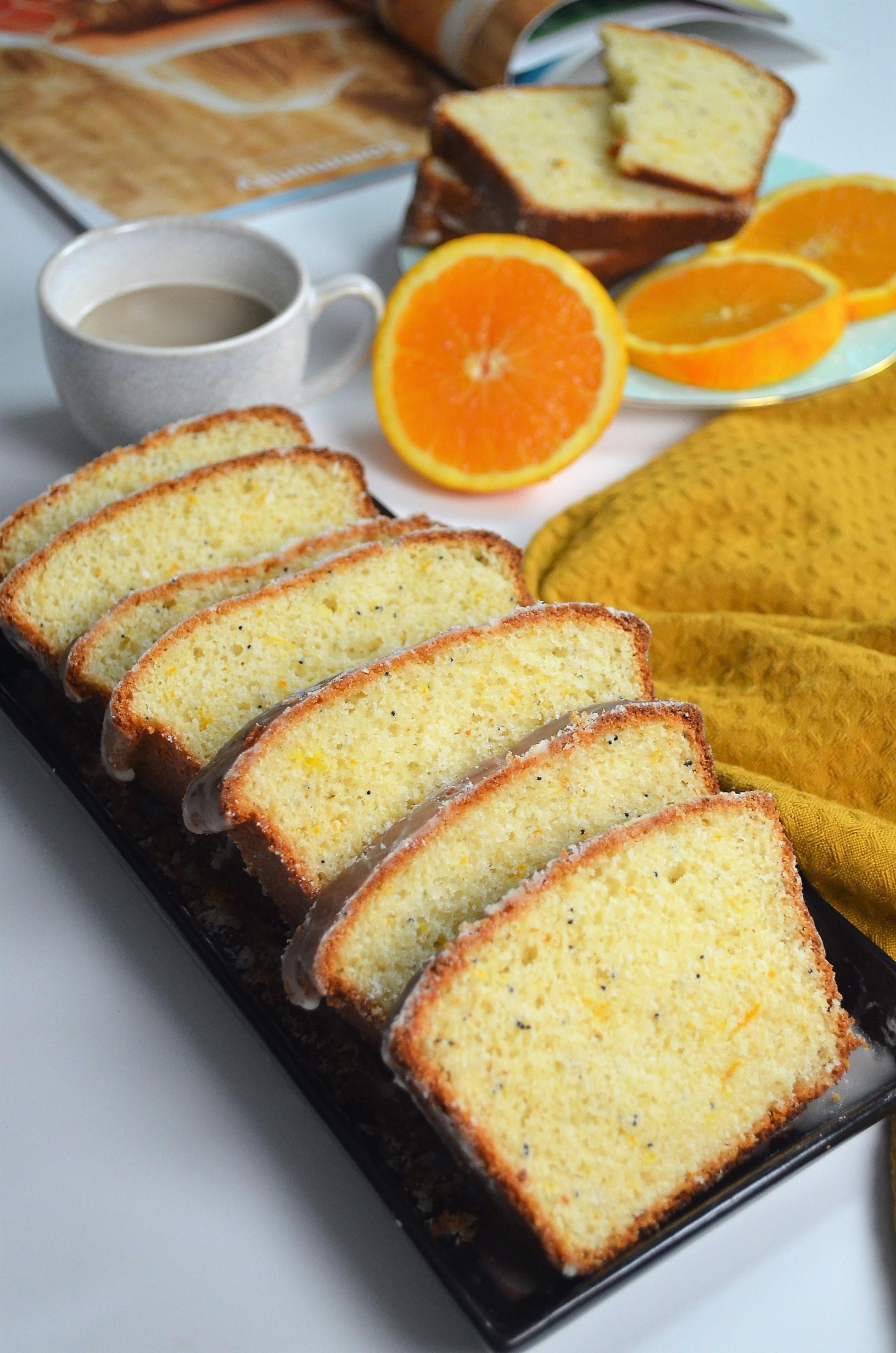 Orange Poppy Seed Loaf Bread By SweetNSpicyLiving