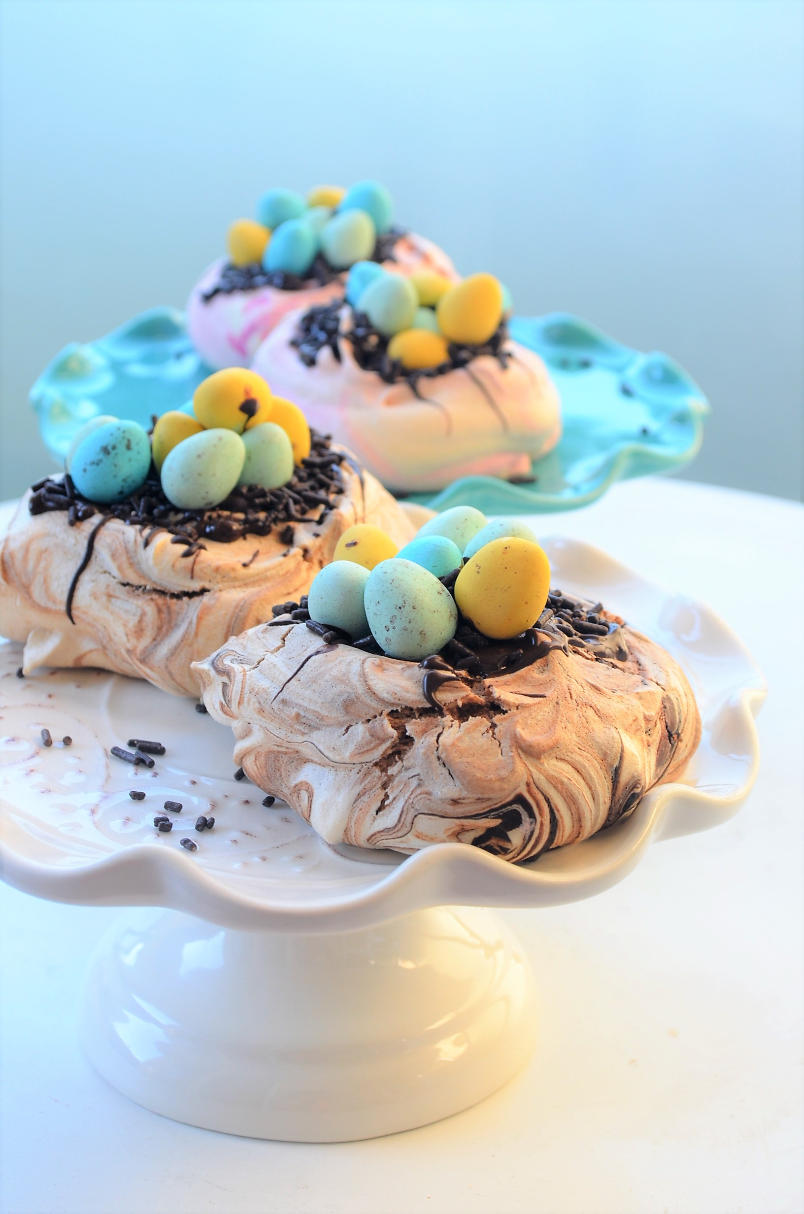 Small Batch Easter Meringue By SweetNSpicyLiving