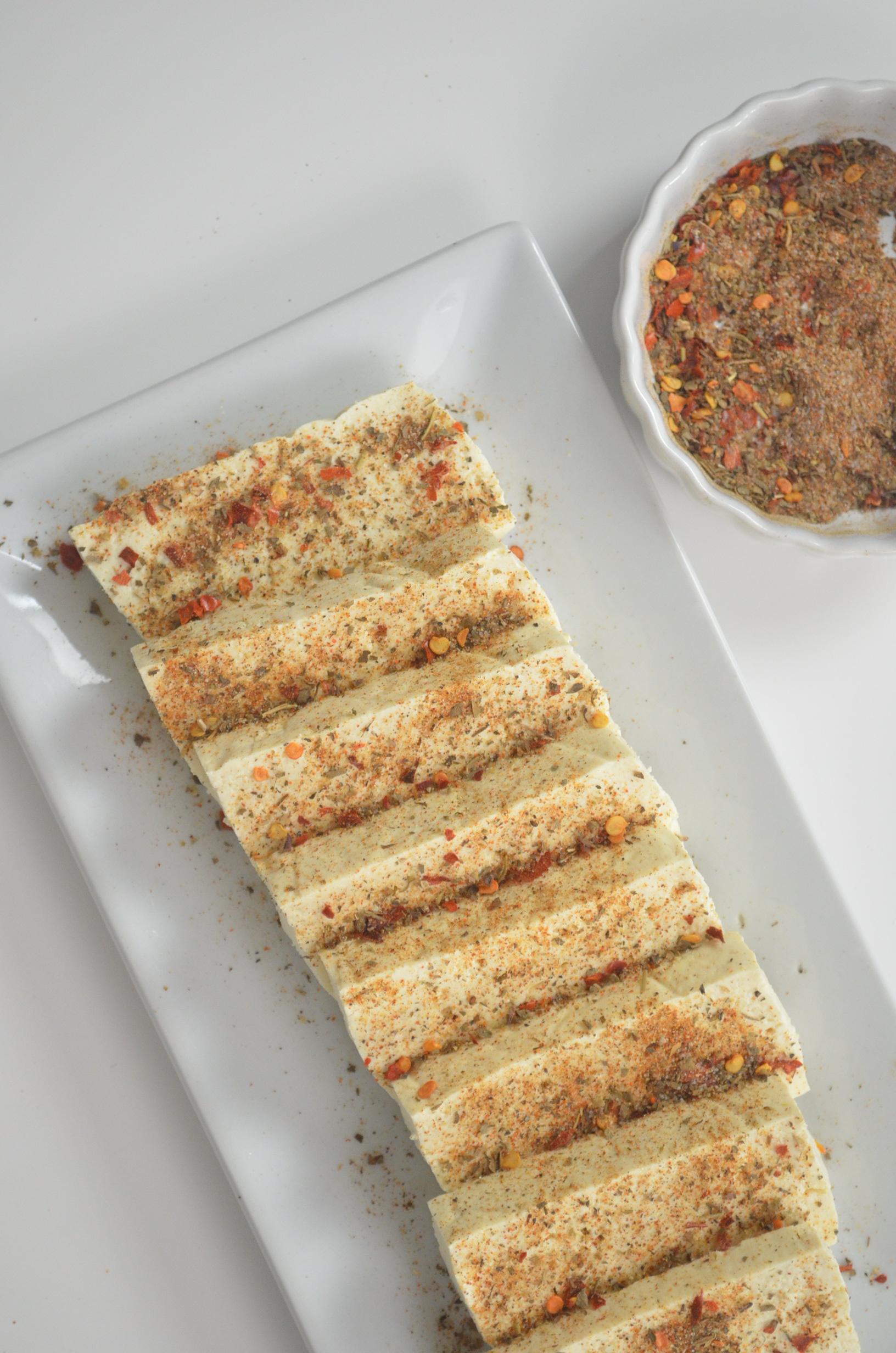 Baked Spiced Tofu
