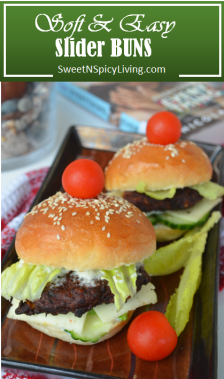 Burger Slider Buns
