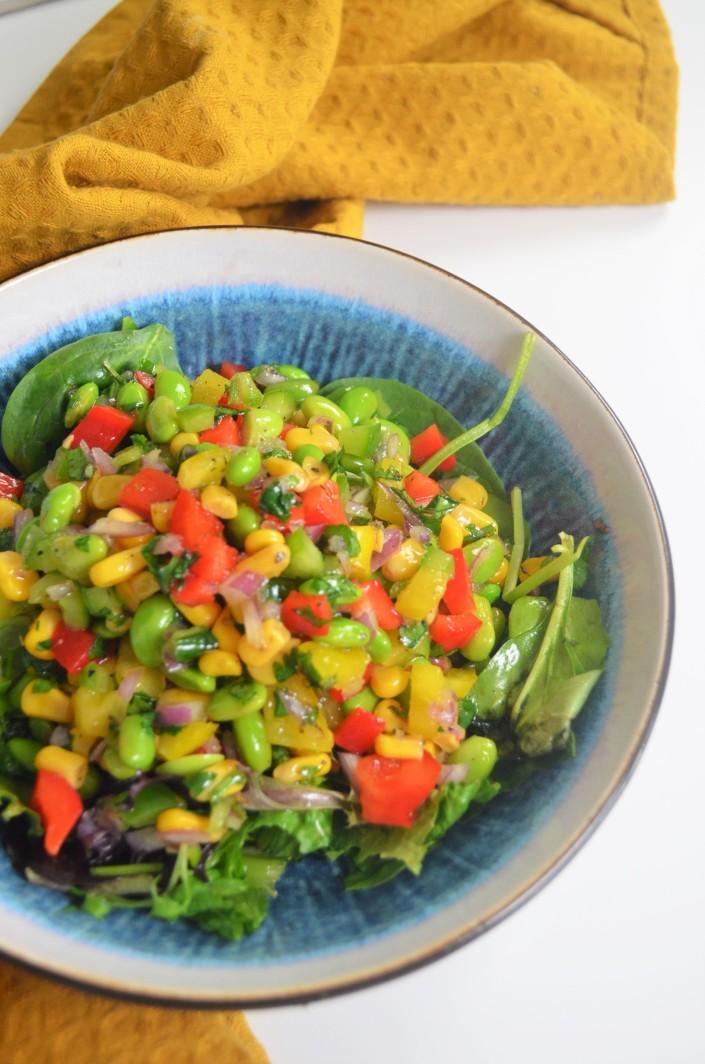 Edemamde Beans Salad