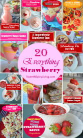 Everything Strawberry Collage Cover