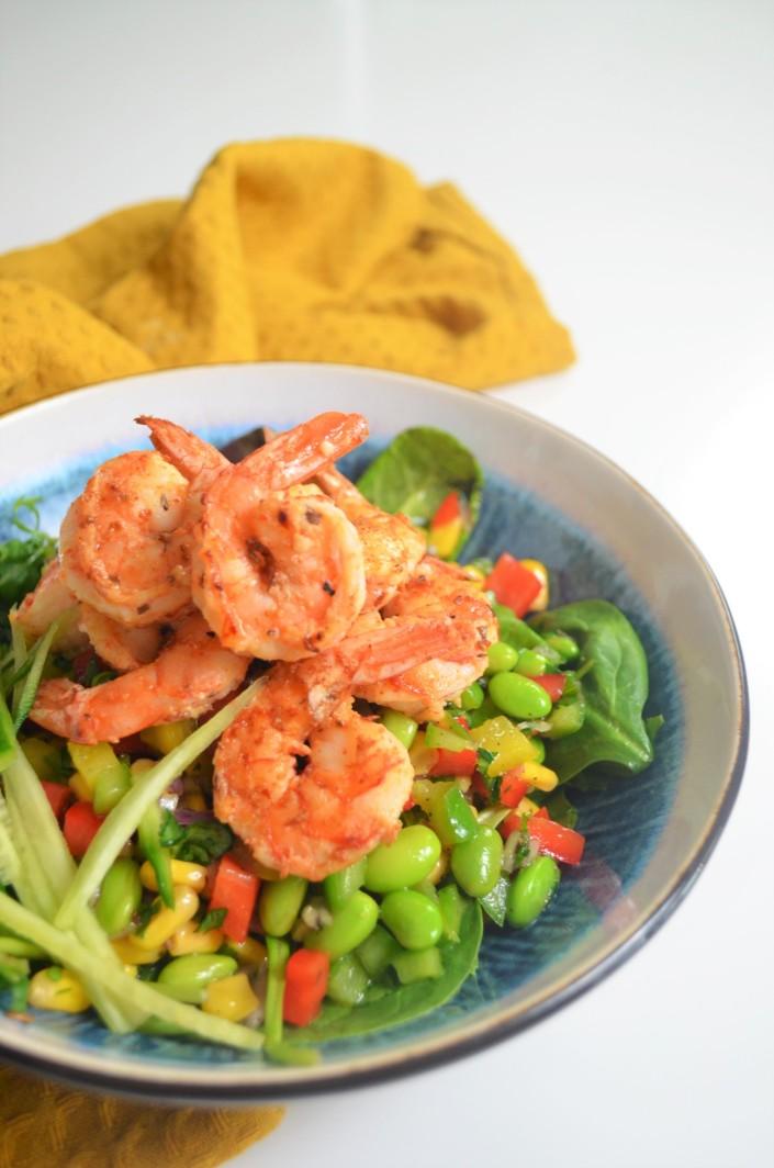 Fresh Edemamde Beans Salad