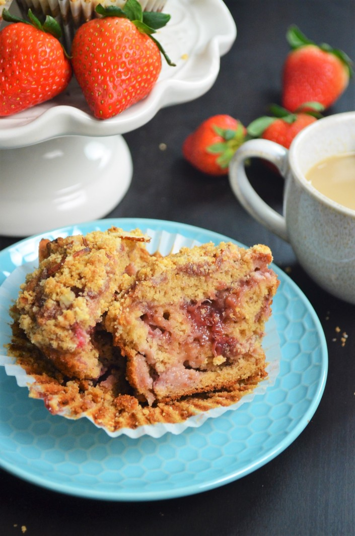 Gluten Free Strawberry Muffin